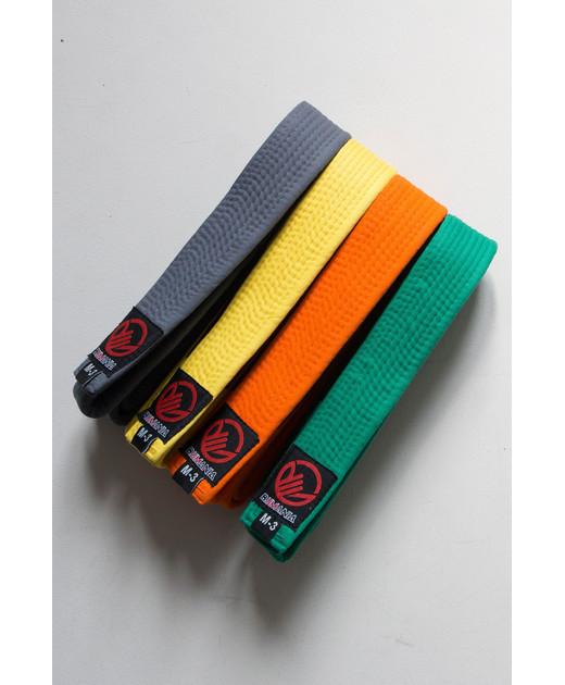 Пояс для кимоно детский BJJMANIA