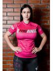 РАШГАРД BJJMANIA (розовый, короткий рукав)