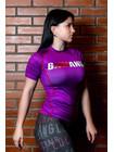 РАШГАРД BJJMANIA (пурпурный, короткий рукав)