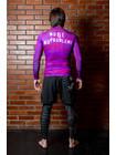 RASHGUARD BJJMANIA (purple, long sleeve)