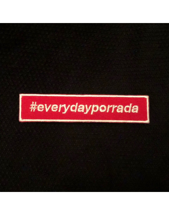 PATCH BJJMANIA #EVERYDAYPORRADA (10x2 cm)