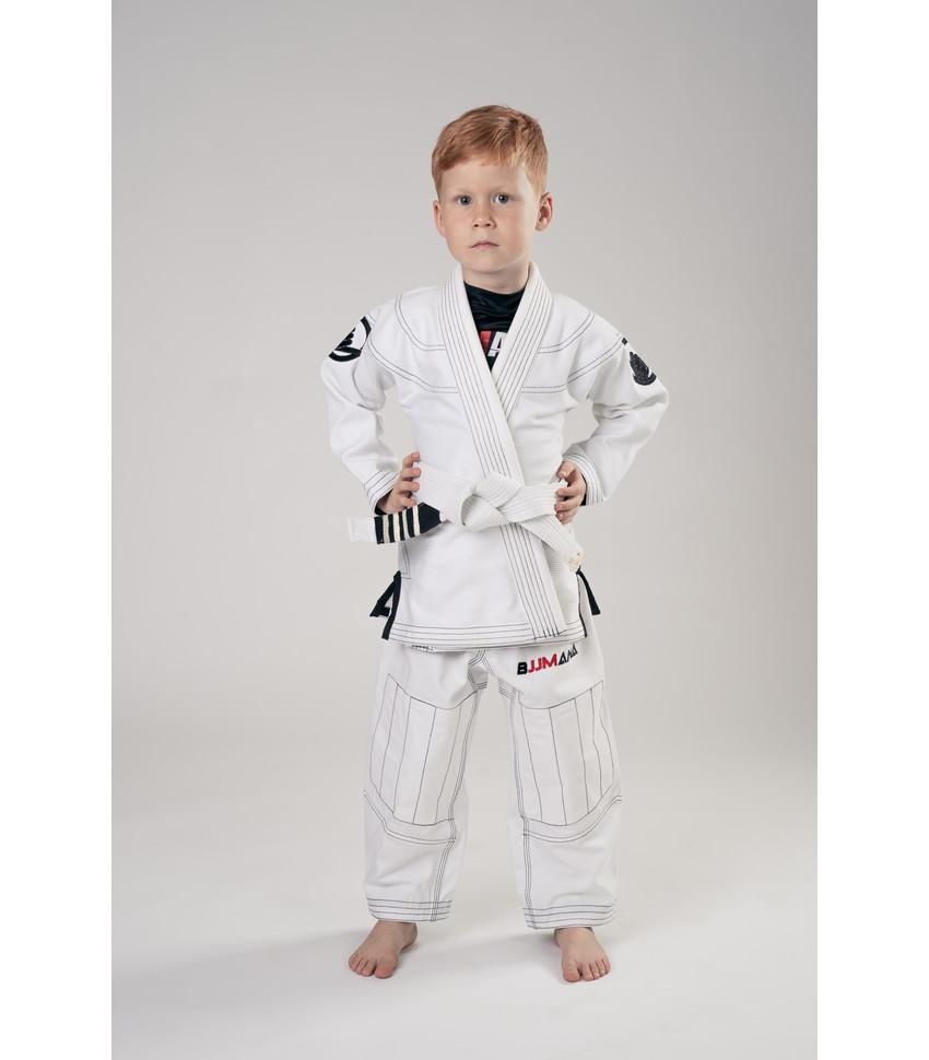 Kid's Gi BJJMANIA Classic (White)