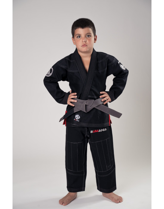 Детское кимоно BJJMANIA Classic (Black)