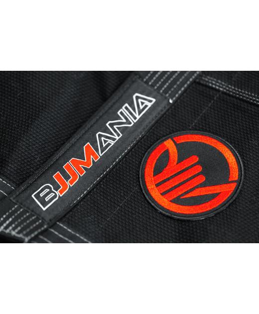 PATCH BJJMANIA RED (9 cm)