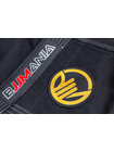 PATCH BJJMANIA Gold (9 cm)