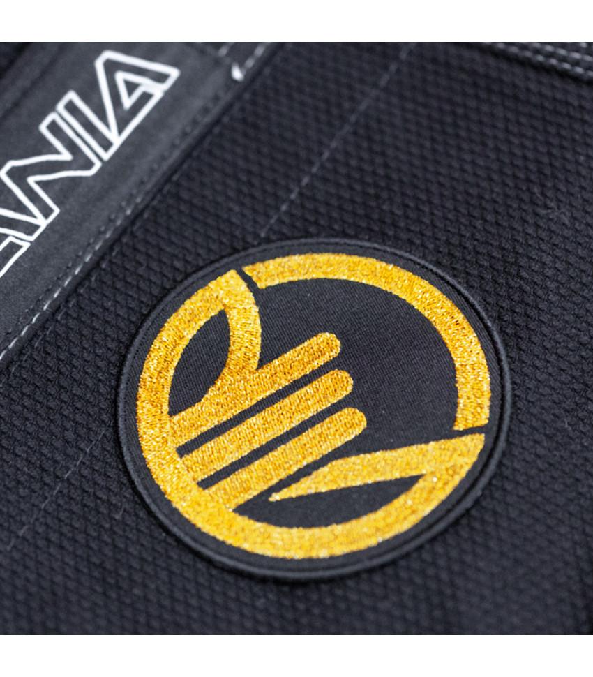 ПАТЧ BJJMANIA GOLD (9 cm)